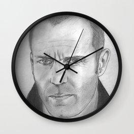 Jason Statham Wall Clock