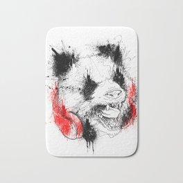 Panda Roar Scratch Bath Mat