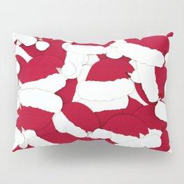 Santa Hats Christmas Pattern (Color) Pillow Sham