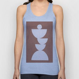 Abstract Balancing Shapes I Unisex Tank Top