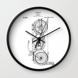 Harley Patent: Model W Wall Clock