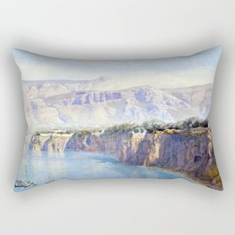 John Brett Near Sorrento Rectangular Pillow