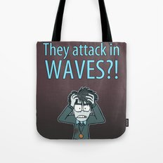 Guardian Ghost- THEY COME IN WAVES Tote Bag