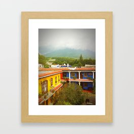 View From the Roof Framed Art Print
