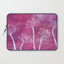Alliums in Red Laptop Sleeve