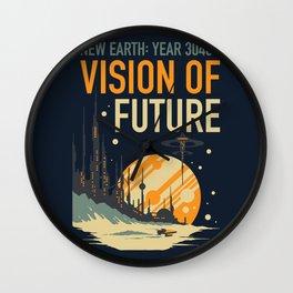 Vision of Future Wall Clock