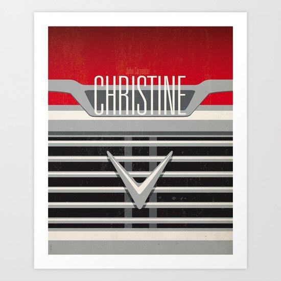 Minimal Poster - Christine Art Print