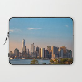 Manhattan Sunset from Governors Island Laptop Sleeve
