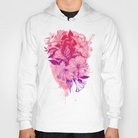 hibiscus Hoodies featuring Hibiscus by Magenda