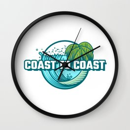 Coast to Coast Wall Clock