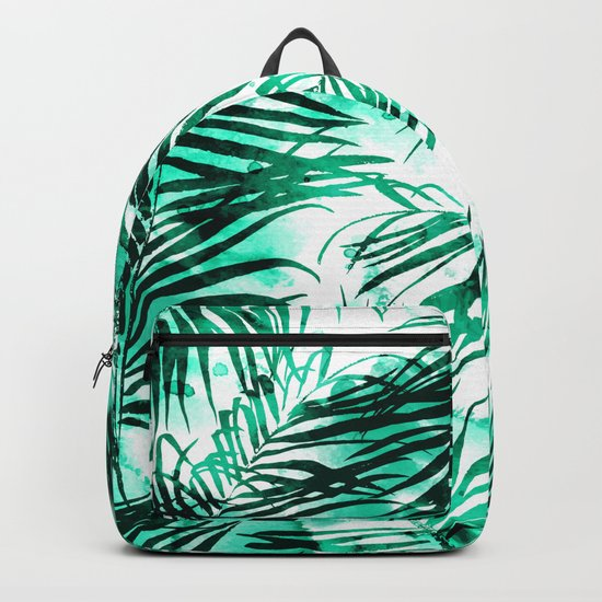 Tropical Heaven || #society6 #buyart #decor Backpack