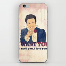 I Want You iPhone & iPod Skin