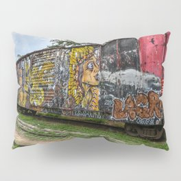 Old train station Pillow Sham