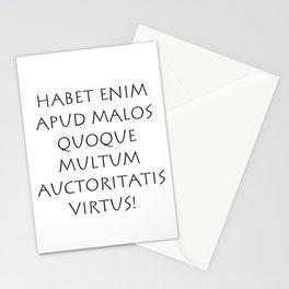 Habet enim apud malos quoque Stationery Cards
