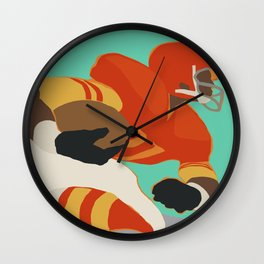 Into the Open Wall Clock