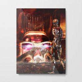 SCAREPODS Metal Print