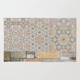 The Alamo Wall Collage 6396 Rug