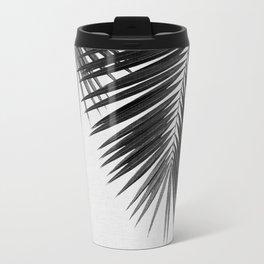 Palm Leaf Black & White II Travel Mug