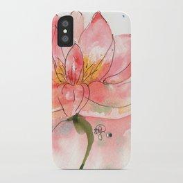 SEKA Lotus iPhone Case