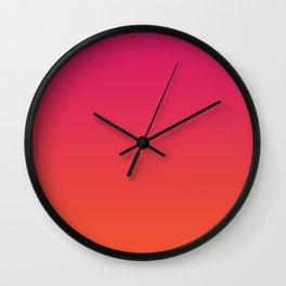 Flavored Sunrise Wall Clock