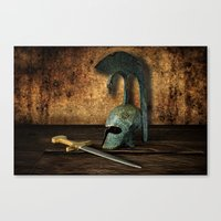 medieval Canvas Prints featuring Medieval by David gonzalez