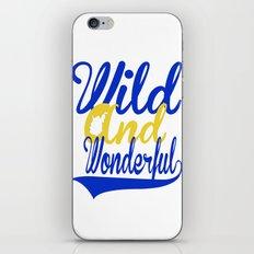 Wild and Wonderful WV iPhone & iPod Skin