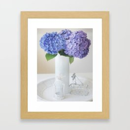 a touch of shabby chic Framed Art Print