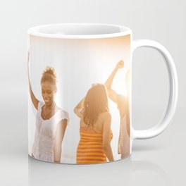 beach party on summer Coffee Mug