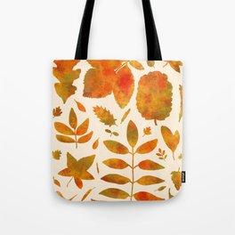 Autumn Leaves Fall Tote Bag