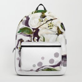 White pumpkins Backpack