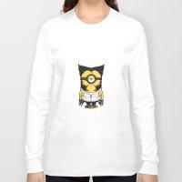 minions Long Sleeve T-shirts featuring X-MINION by bimorecreative