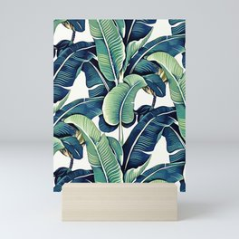 Banana leaves Mini Art Print
