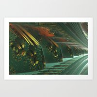 Cannon Battery (Painterly) Art Print