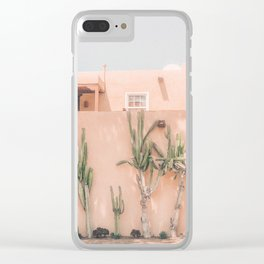 Vintage Los Angeles Clear iPhone Case