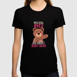 Sweet bear as cuddly toy Teddy bear T-shirt
