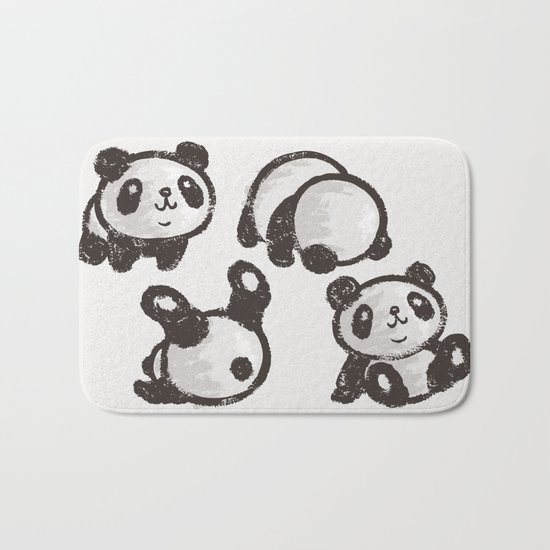 Panda Bath Mat