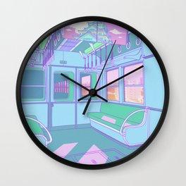 Train to Tokyo Wall Clock