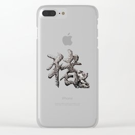The Zodiac 12 - Pig Clear iPhone Case