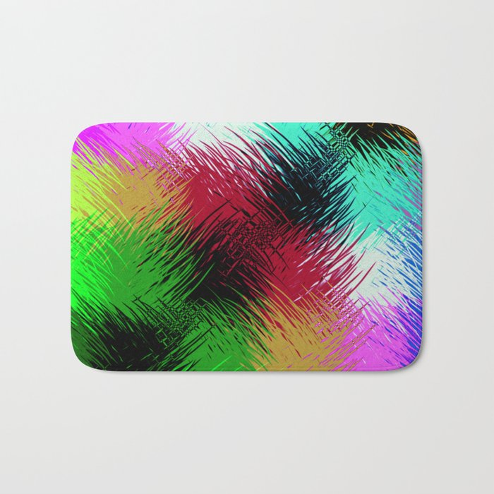 Interaction Of Colour Bath Mat