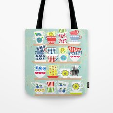 Scadinavian Cups Collection Tote Bag