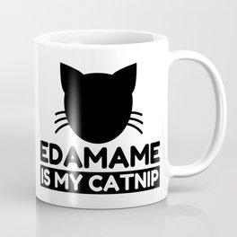 Edamame Lover Funny Cat Gifts Coffee Mug