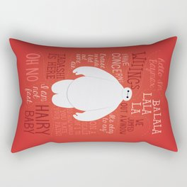 Hello, I'm Baymax Rectangular Pillow