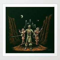 Heroes of Mars Art Print
