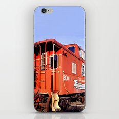 Lil Red Caboose -Wellsboro Ave Hurley ArtRave iPhone & iPod Skin