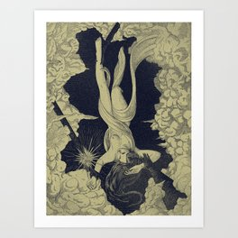 Proserpina's Escape Art Print