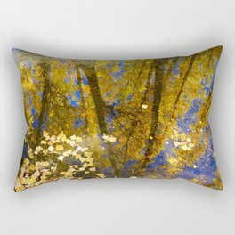 Fall dreams. Abstract autumn. Rectangular Pillow