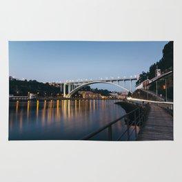 Arrabida bridge (II) Rug
