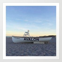 Avalon, NJ Art Print