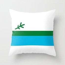 Labrador Flag  Throw Pillow