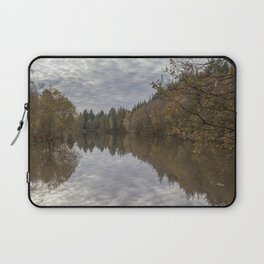 Autumn Lake Reflections Laptop Sleeve